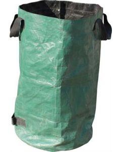 sacco di capacità 250 litri per raccolta di erba, foglie, rifiuti da giardini, cortili, aree a verde