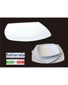 Saturnia piatto Tokio frutta bianco set 6 pezzi