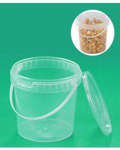 Secchio in plastica di capacità 11 litri