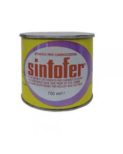 Sintofer standard a grana media stucco per carrozzeria e nautica. Bicomponente, colore grigio.