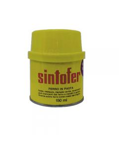 Sintofer vetrificato stucco per nautica e carrozzeria bicomponente poliestere con fibre di vetro incorporate. Confezione 175 ml.