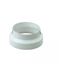 Smalbo riduzione in acciaio smaltato colore bianco per tubo per stufa a legno