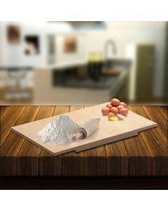 Spianatoia asse legno betulla cm 60 x 80 impastare stendere tagliare pasta fatta in casa