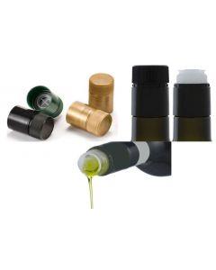 Tabbo antirabbocco guala. Salvagoccia. Ideale per olio, bottiglie marasca. Colori disponibili: verde, oro, nero. Confezione 10 pezzi.