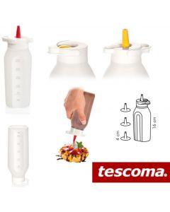 Tescoma Presto flacone graduato dosatore ml 250 con 4 beccucci