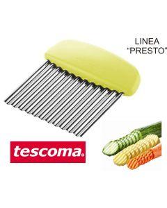 Tescoma Presto taglia verdure per giardiniera a lama ondulata
