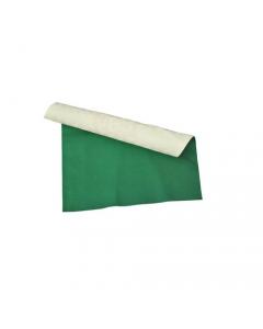 Tovagliato ristorazione cucina ristorante pizzeria proteggi tavola tavolo merletto colore bianco / verde 100% vinile h cm 140 lunghezza rotolo 20 metri