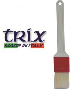 Trix pennello da cucina in setole naturali. Pennello per decorazione dolci disponibile in larghezza cm 4, cm 6, cm 7,5.