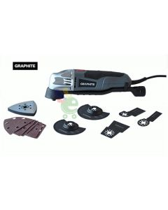 utensile multifunzione seghetto taglio smerigliatrice graphite 180 watt