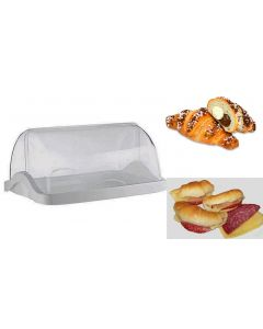 Vetrina vetrinetta da bar e pasticceria per esporre dolci cornetti brioche panini cm 48 x 33